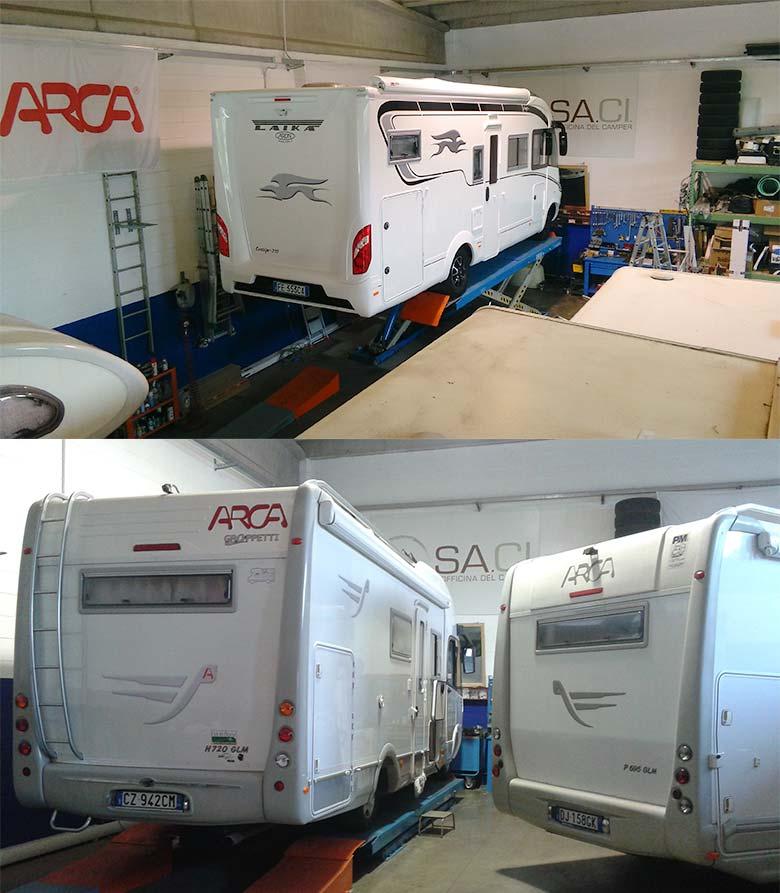 SaciCamper - riparazione ed assistenza camper