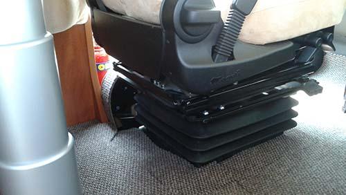 sedile pneumatico camper